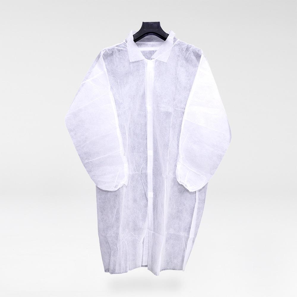 20 kertakäyttöistä paitaa haalaria esiliinaa kimonoa kuitukankaasta kampaajille/partureille kosmetologeille Promo